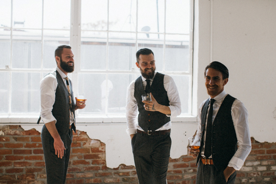 Jill Carter's 100 Layers Cake Styled Groomsmen Shoot