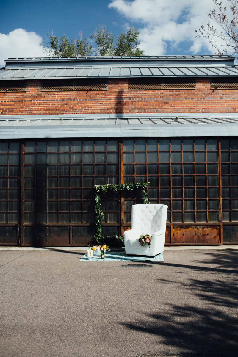 Urban Brunch Wedding Styled Wedding Shoot